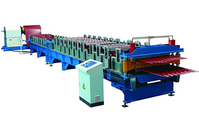 HVM High Speed Roll Forming Machine