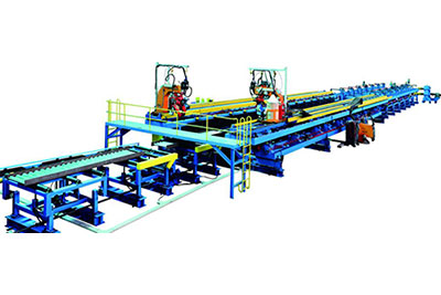 JBH Corrugated Web H-beam/ SIN Beam Automatic Welding Line